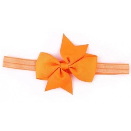 Oranžinė galvos juostelė - universalus dydis