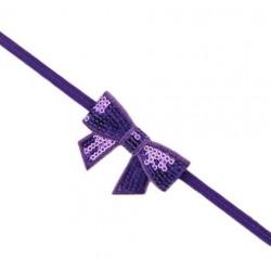 Violetinė galvos juostelė - universalus dydis
