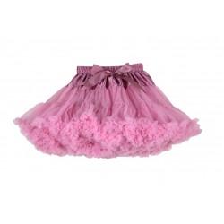 Dusty pink, labai pūstas sijonas, 32 cm ilgio