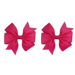 Ryškiai rožiniai plaukų segtukai, 2 vnt