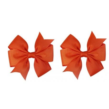 Oranžiniai plaukų segtukai, 2 vnt