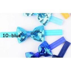 Mėlyna Nr.10, galvos juostelė - universalus dydis