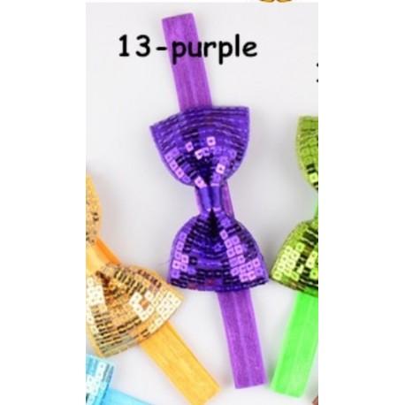 Violetinė Nr.13, galvos juostelė - universalus dydis