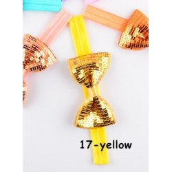 Geltona Nr.17, galvos juostelė - universalus dydis