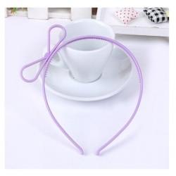 Violetinis lankelis su kaspinėliu