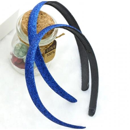 Mėlynas lankelis su žėručiu