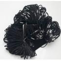 Juodos plaukų gumytės, 20 vnt