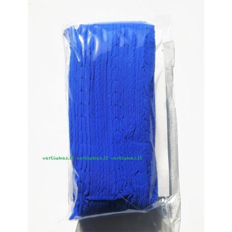 Mėlynos pėdkelnės, raštuotos, 80 denų