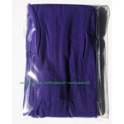 Violetinės pėdkelnės, vienspalvės, 80 denų