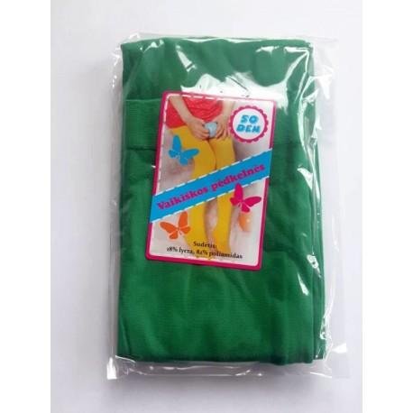 Žalios pėdkelnės