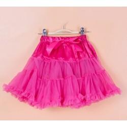 Ryškiai rožinis sijonas