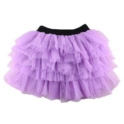 Alyvinės spalvos sijonas, 28 cm ilgio
