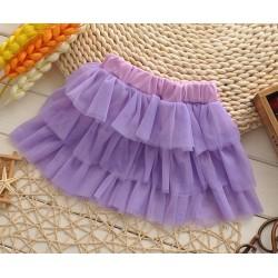 Violetinis sijonėlis