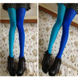 Mėlynos - žydros pėdkelnės, 9-16 metų mergaitėms