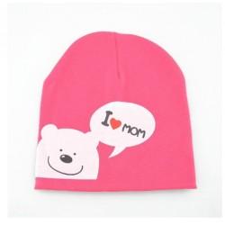 Rožinė kepurė (iki 3 m. vaikams)
