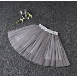 Pilkas sijonas, 35 cm ilgio