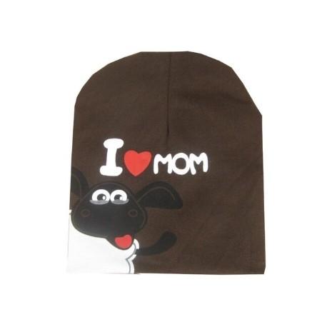 Ruda kepurė (iki 3 m. vaikams)