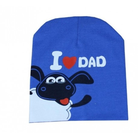 Mėlyna kepurė (iki 3 m. vaikams)