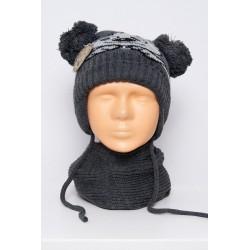 komplektukas: kepurė + šalikėlis