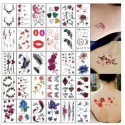 Laikinos tatuiruotės, 10 vnt