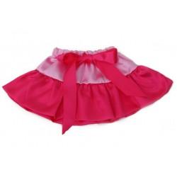 Rožinis sijonėlis, 20 cm. ilgio