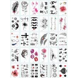 Laikinos tatuiruotės, 30 vnt