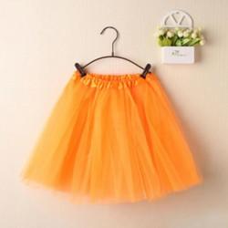 Oranžinis TUTU sijonas merginoms