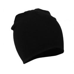 Juoda kepurė (iki 3 m. vaikams)