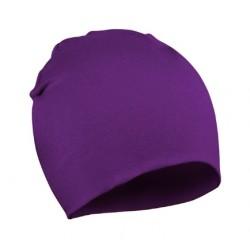 Violetinė kepurė (iki 3 m. vaikams)