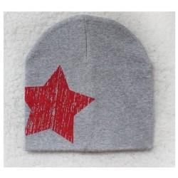 Pilka kepurė (iki 3 m. vaikams)