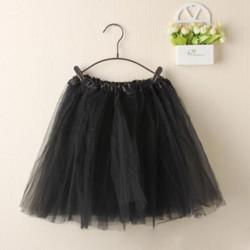 Juodas TUTU sijonas merginoms