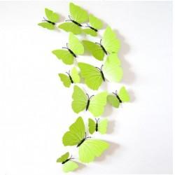3D drugelių rinkinys
