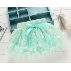 Žalias sijonas, 24 cm ilgio