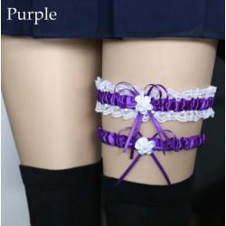 Violetinės spalvos keliaraištis
