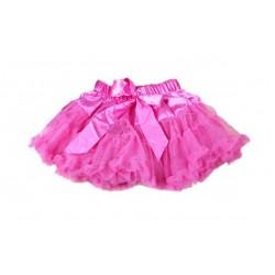 Ryškiai rožinis sijonėlis, 21 cm ilgio