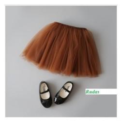 Rudas sijonėlis, 26 cm. ilgio