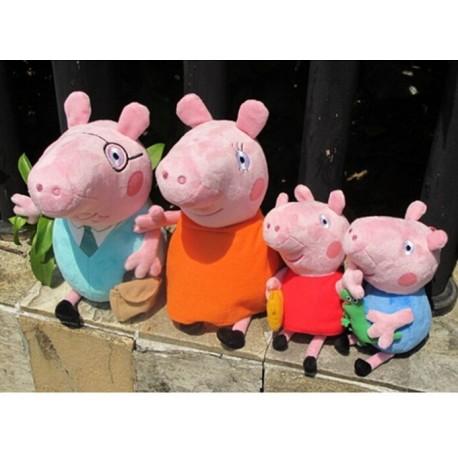 Pliušinis žaislas Peppa Pig ir kt šeimos nariai