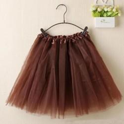 Rudas TUTU sijonas merginoms