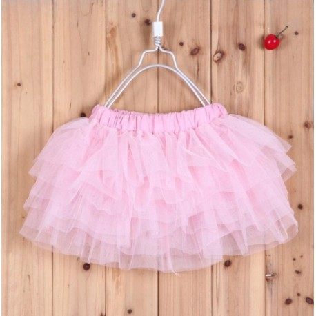 Rožinis sijonėlis, 29 cm. ilgio
